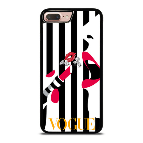 VOGUE LOGO LIPSTICK iPhone 8 Plus Case