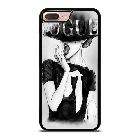 VOGUE LOGO SKETCH iPhone 8 Plus Case