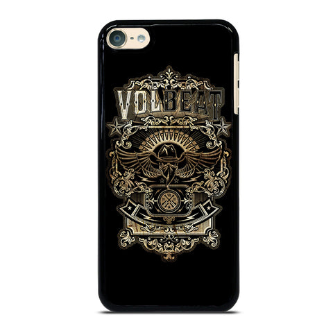 VOLBEAT iPod Touch 4 5 6 Generation 4th 5th 6th Case - Best Custom iPod Cover Design