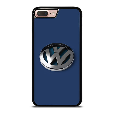 VW VOLKSWAGEN GLOSSY LOGO EMBLEM iPhone 8 Plus Case