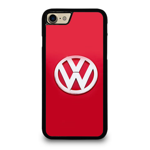 VW VOLKSWAGEN LOGO RED iPhone 7 Case