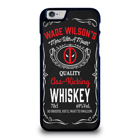 WADE WILSON WHISKEY DEADPOOL-iphone-6-6s-case