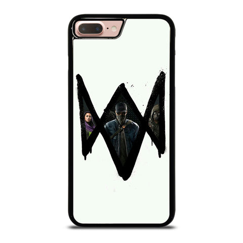 WATCH DOGS 2 LOGO ART iPhone 8 Plus Case
