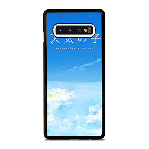 WEATHERING WITH YOU POSTER Samsung Galaxy S10 Case