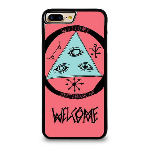 WELCOME SKATEBOARDS LOGO PINK iPhone 7 Plus Case