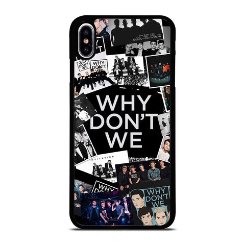 WHY DONT WE COLLAGE iPhone XS Max Case