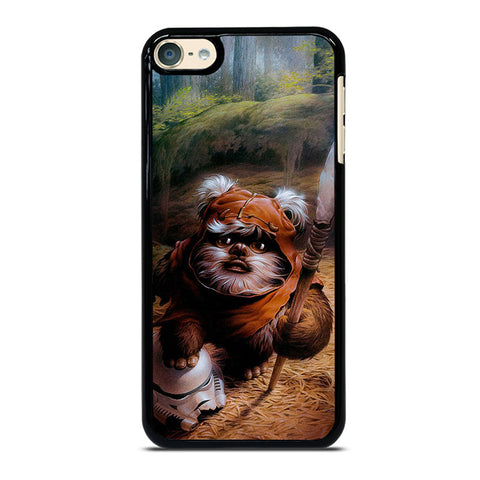 WICKET EWOK JEDI STAR WARS iPod Touch 4 5 6 Generation 4th 5th 6th Case - Best Custom iPod Cover Design