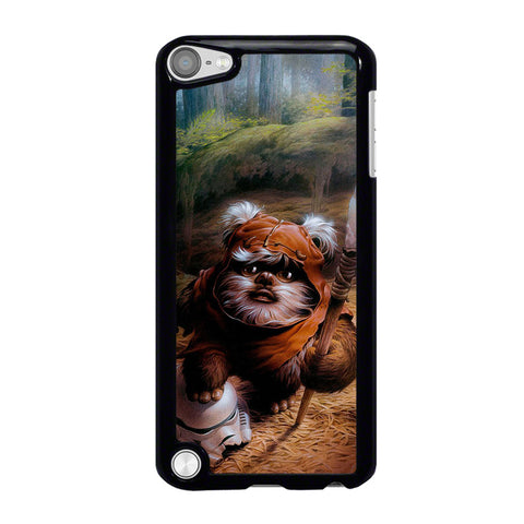 WICKET EWOK JEDI STAR WARS-ipod-touch-5-case