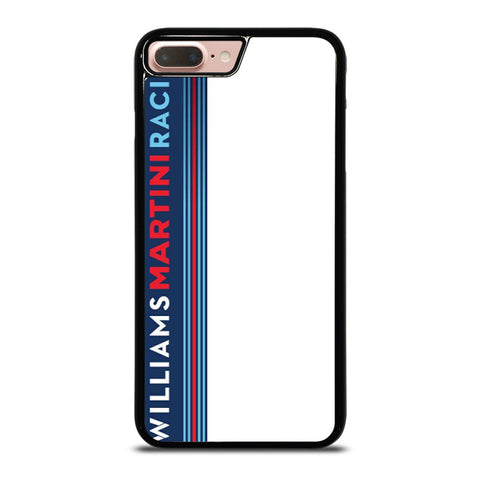 WILLIAMS MARTINI RACING TEAM STRIPE iPhone 8 Plus Case