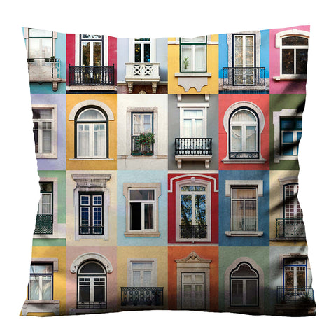 WINDOWS OF THE WORLD Cushion Case Cover