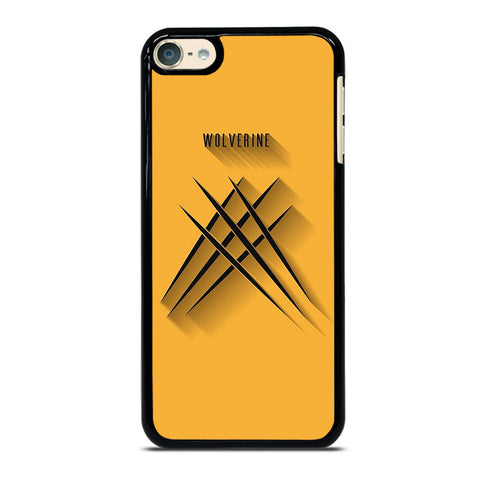 WOLFERINE YELLOW CLAW X-MEN iPod Touch 6 Case