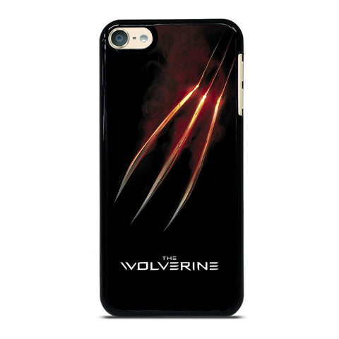 WOLVERINE GLOWING CLAW X-MEN iPod Touch 6 Case