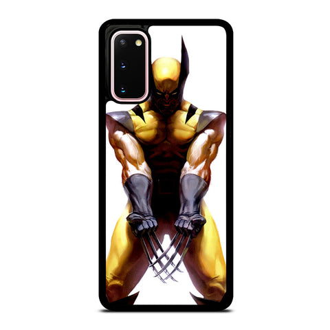 WOLVERINE X-MEN YELLOW SUIT Samsung Galaxy S20 Case