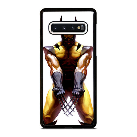 WOLVERINE X-MEN YELLOW SUIT Samsung Galaxy S10 Case