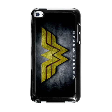 WONDER WOMAN LOGO NEW-ipod-touch-4-case