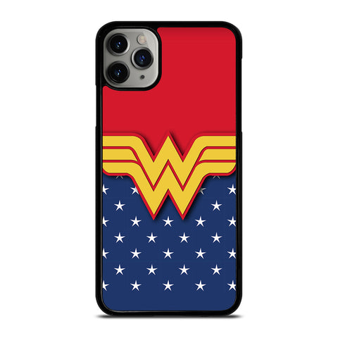 WONDER WOMAN LOGO iPhone 6/6S 7 8 Plus X/XS XR 11 Pro Max Case - Best Custom Phone Cover Design