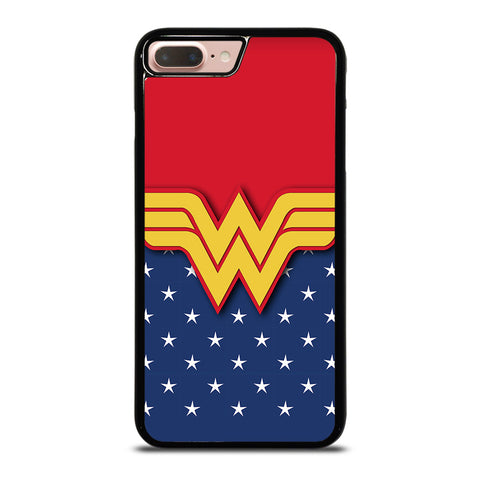 WONDER WOMAN LOGO-iphone-8-plus-case