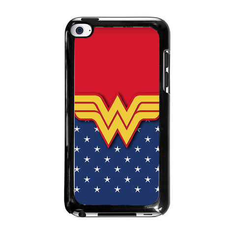 WONDER WOMAN LOGO-ipod-touch-4-case