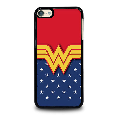 WONDER WOMAN LOGO-ipod-touch-6-case