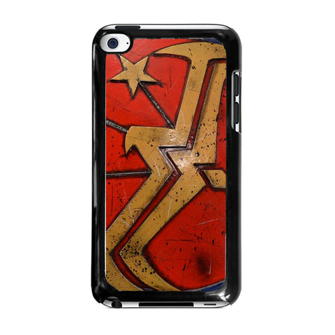 WONDER WOMAN SHIELD LOGO-ipod-touch-4-case