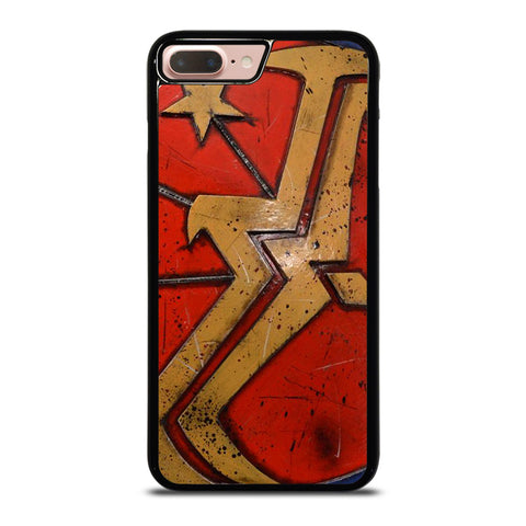 WONDER WOMAN SHIELD LOGO-iphone-8-plus-case