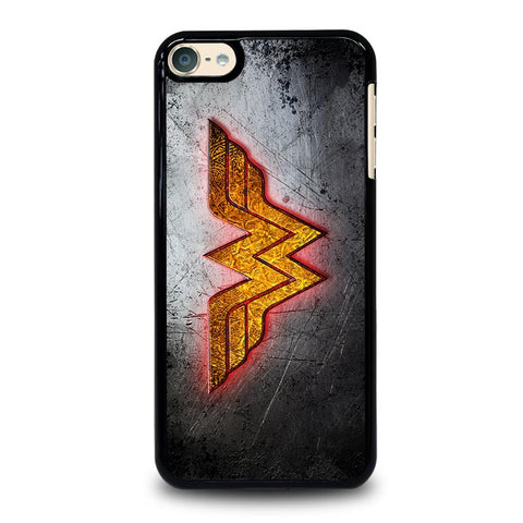 WONDER WOMAN GOLDEN  LOGO iPod Touch 4 5 6 Generation 4th 5th 6th Case - Best Custom iPod Cover Design