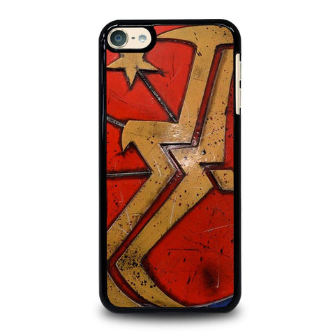 WONDER WOMAN SHIELD LOGO iPod Touch 4 5 6 Generation 4th 5th 6th Case - Best Custom iPod Cover Design