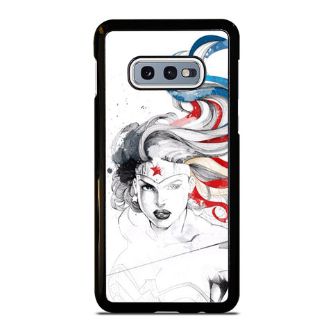 WONDER WOMAN SKETCH Samsung Galaxy S10e Case