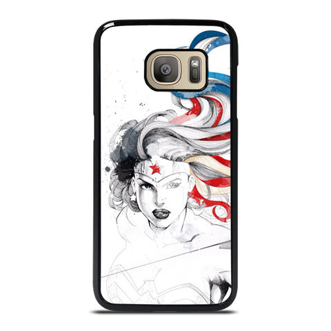 WONDER WOMAN SKETCH Samsung Galaxy S7 Case