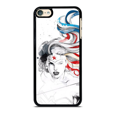 WONDER WOMAN SKETCH iPod Touch 6 Case