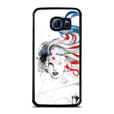 WONDER WOMAN SKETCH Samsung Galaxy S6 Edge Case
