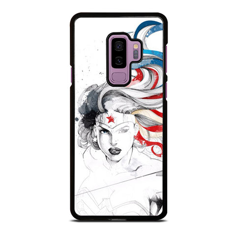 WONDER WOMAN SKETCH Samsung Galaxy S9 Plus Case