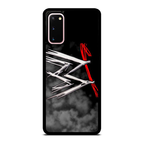 WWE LOGO FOG EFFECT Samsung Galaxy S20 Case