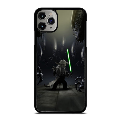 YODA VS ALIENS-iphone-case