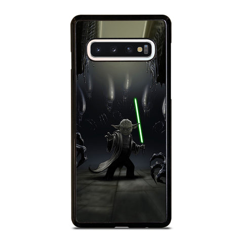 YODA VS ALIENS Samsung Galaxy S10 Case