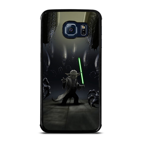 YODA VS ALIENS Samsung Galaxy S6 Edge Case