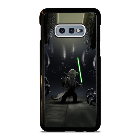 YODA VS ALIENS Samsung Galaxy S10e Case