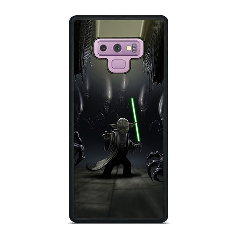 YODA VS ALIENS Samsung Galaxy Note 9 Case