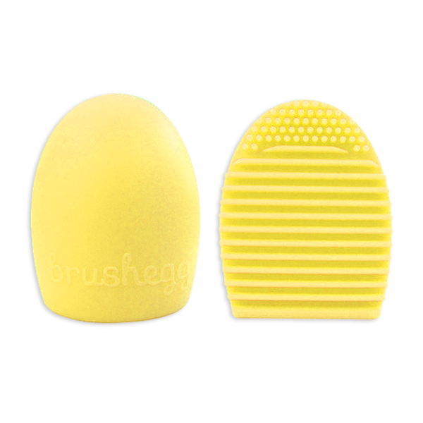 Yellow Makeup Brush Cleaner - BrushBabe.com