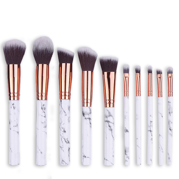 BrushBabe Marble Makeup Brushes