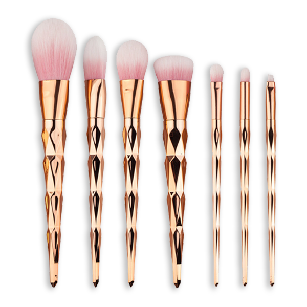 BrushBabe Rose Gold Unicorn Makeup Brushes