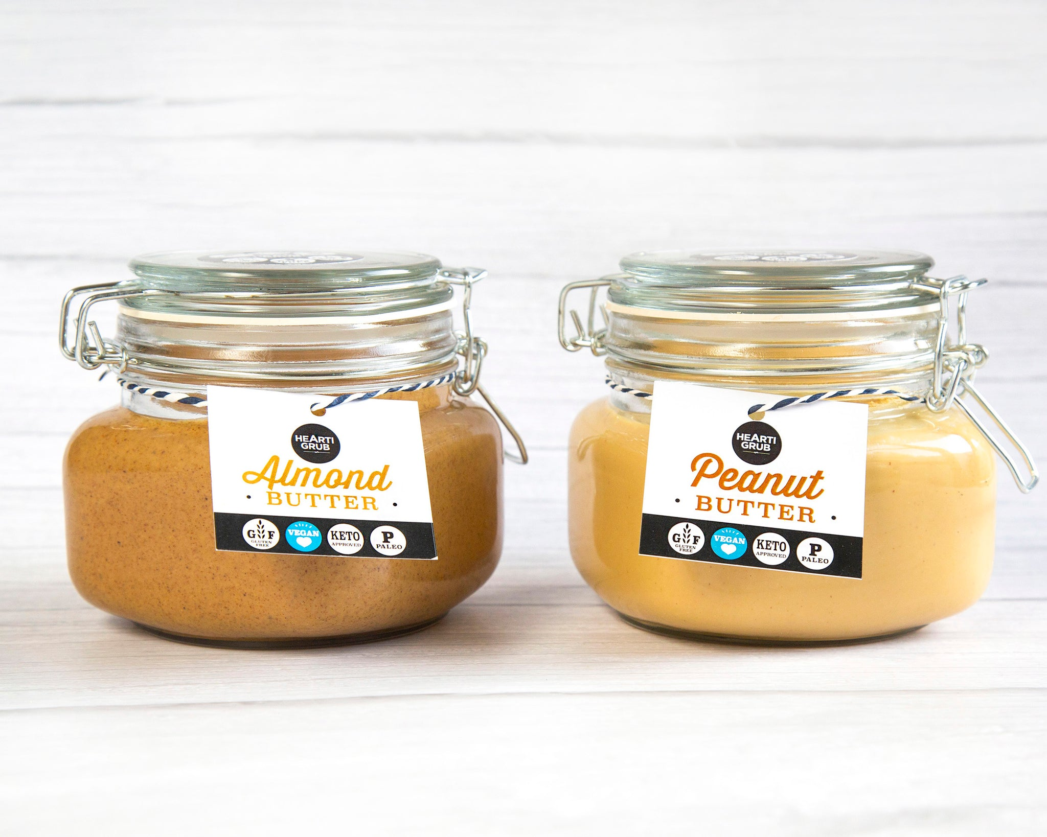 PEANUT & ALMOND BUTTER BUNDLE 500g