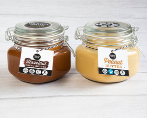 CACAO HAZELNUT & PEANUT BUTTER BUNDLE 500g