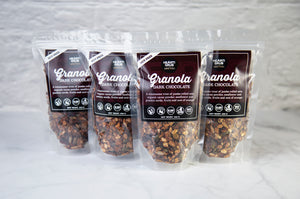 NO NUT. NUT FREE. DARK CHOCOLATE GRANOLA by HEARTIGRUB