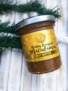 HONEY ROASTED MACADAMIA BUTTER 130g