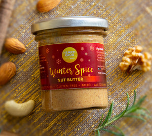 CHRISTMAS GIFT UAE. NUT BUTTER. GIFT HAMPER.XMAS GIFTING. HEARTIGRUB. DUBAI, UAE