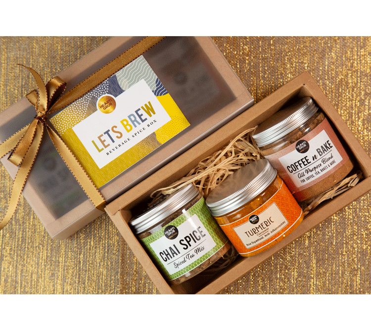 LET'S BREW Wellness Beverage Spice Box