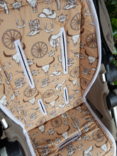 Pram Liner - Country Western Cream