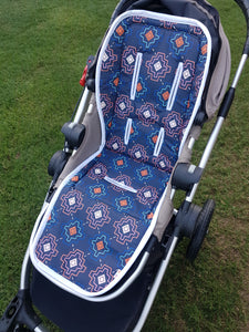 Pram Liner - Desert Dreams Navy