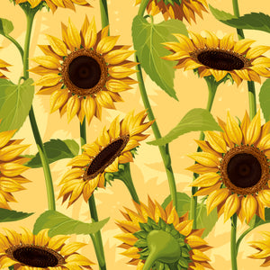 Pram Liner - Sunflower